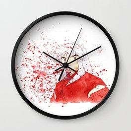 Dog Demon Wall Clock