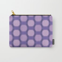 Geometry retro ornaments purple colors Carry-All Pouch