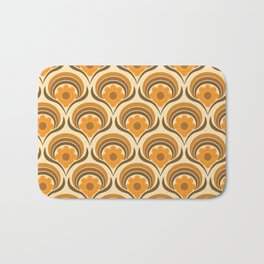 Orange  Daisy Dream Bath Mat