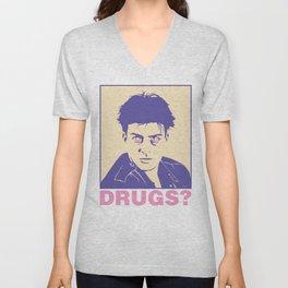DRUGS? Unisex V-Neck