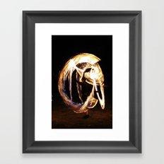 FIRE DANCE 2 Framed Art Print