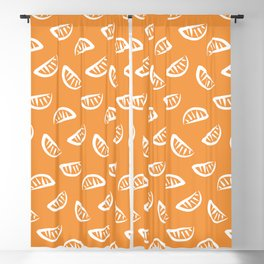 Tangerine Blackout Curtain