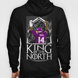 Vikings Stefon Diggs King Of The North Shirt - Gift For Minnesota Football Fans Hoody