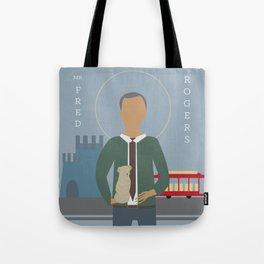 Mr. Rogers Icon Tote Bag