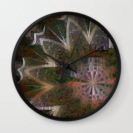 Mandala Grotesque New 2 Derivative Wall Clock