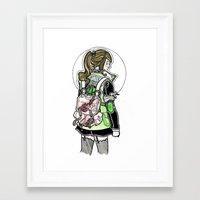 sailor jupiter Framed Art Prints featuring Sailor Jupiter by Helen Mask