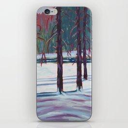 The Spruce Bog, Algonquin Park iPhone Skin