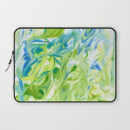 Awesome green marble texture Laptop Sleeve