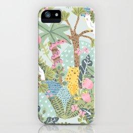 Junge flora iPhone Case