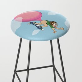 Don't Swallow Your Bubble Gum Bar Stool