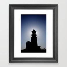 Light. House. Framed Art Print