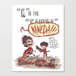 """K"" Is For ""Kaneda"" Canvas Print"