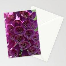 Foxglove Flowers Stationery Cards