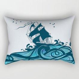Upon The Sea Rectangular Pillow