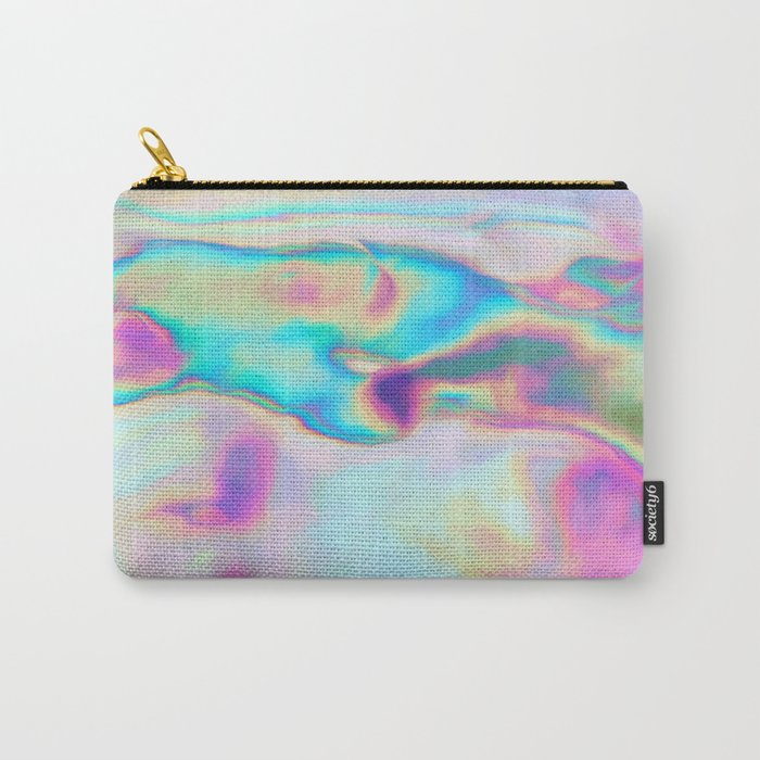 Iridescence - Rainbow Abstract Carry-All Pouch
