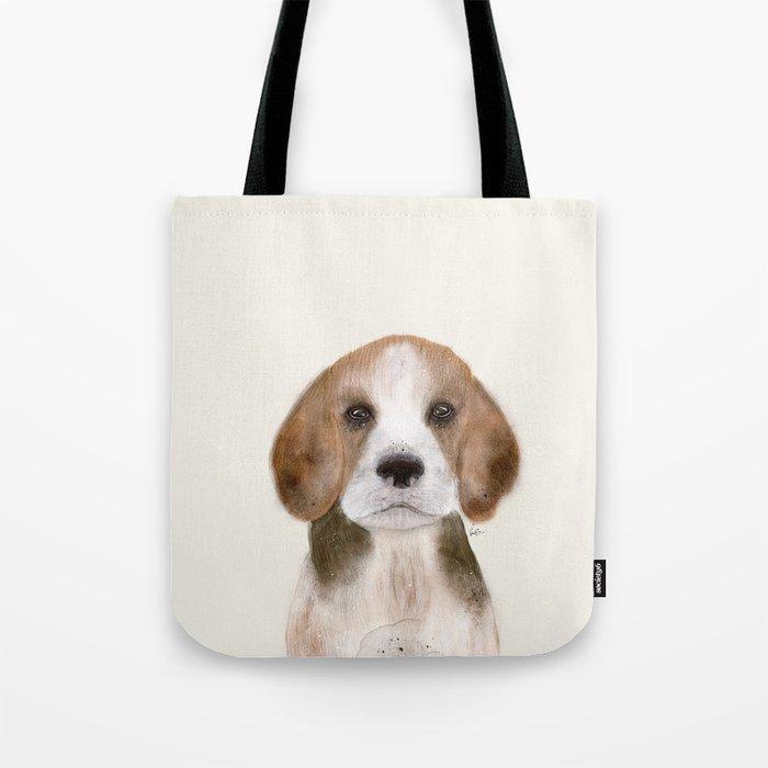 little beagle Tote Bag