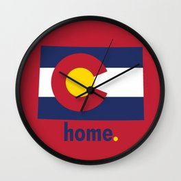 Colorado Proud Wall Clock
