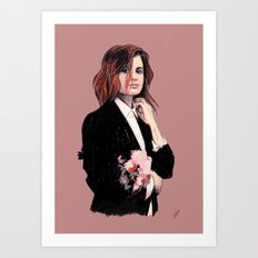 Christine and the Queens Art Print