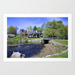 Historic New England Art Print