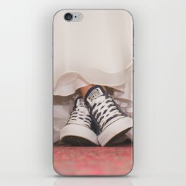 HER SHOES iPhone Skin