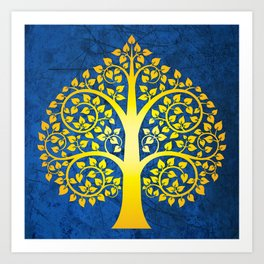 Bodhi Tree0102 Art Print