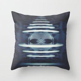 Particle Atributes  Throw Pillow
