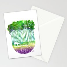 Deer Path Stationery Cards