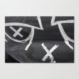 Black Eye Canvas Print