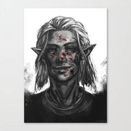 Dragon Age - Zevran Canvas Print