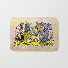 Baby Animals Bath Mat