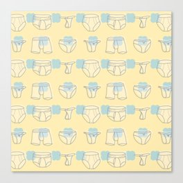 Underwear Canvas Print