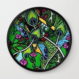 Peacock Paradise Wall Clock