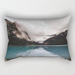 Lake Louise Mood Rectangular Pillow