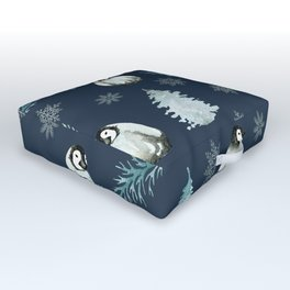 Winter Wonderland 4 Outdoor Floor Cushion