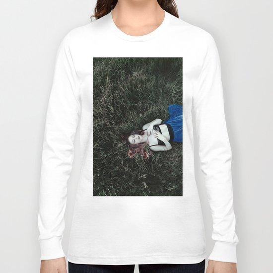 Grass girl Long Sleeve T-shirt