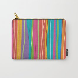 COLORFUL STRIPES Carry-All Pouch