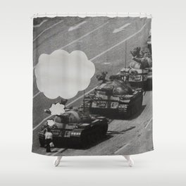 What Were You Thinking? 7 Shower Curtain
