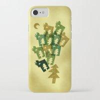 saga iPhone & iPod Cases featuring Woodragons Saga by Efon Vee