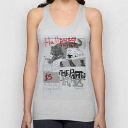 Halloween 2016 Flier Unisex Tank Top