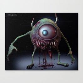 Mike Wazowski Canvas Print