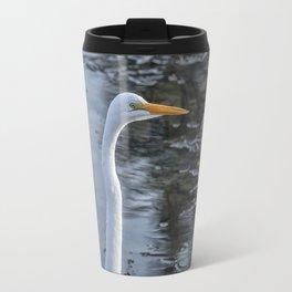 Great Egret at Delta Ponds, No. 1 Travel Mug