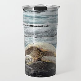 Hawaiian Honu - Sea Turtle Travel Mug