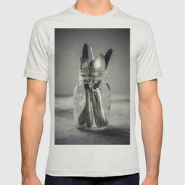Forks spoons and knifes T-shirt