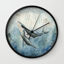 The Voyage Home Wall Clock