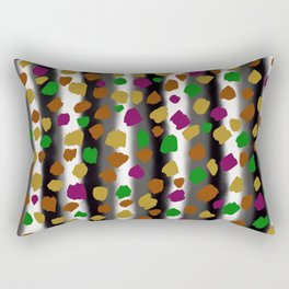 Autumn Birch Print Rectangular Pillow