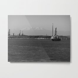 Black sea Metal Print