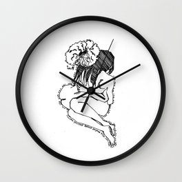 Love yourself IV Wall Clock