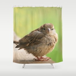 Baby Bird Shower Curtain