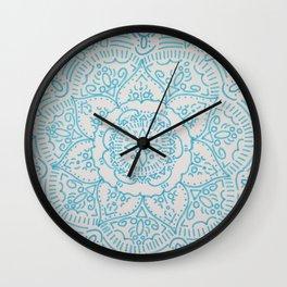 FLOWER DESIGN Wall Clock