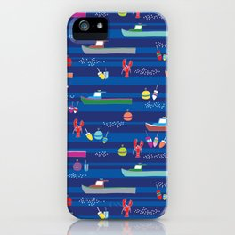 Lobster Boats iPhone Case